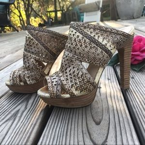 BCBGMaxAzria Heels in EUC!  👠